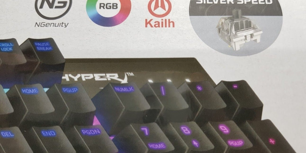 Verpackung Hinweis zu Kailh Silver Switches