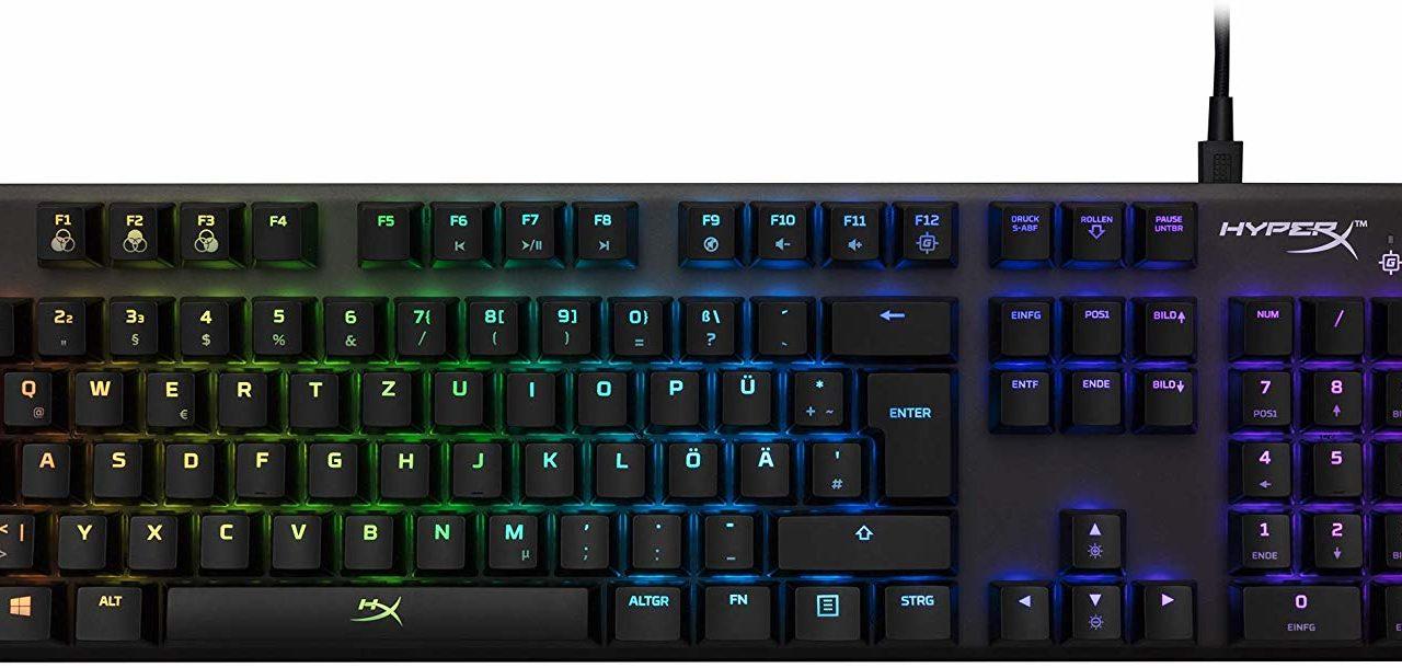DIE HYPERX ALLOY FPS RGB GAMING TASTATUR IM TEST
