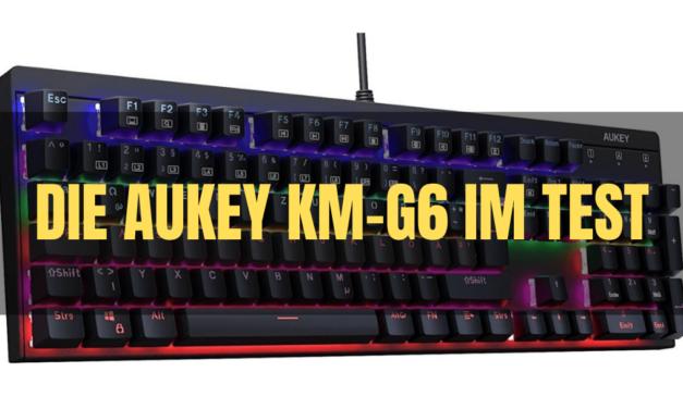 Die Aukey KM-G6 im Test