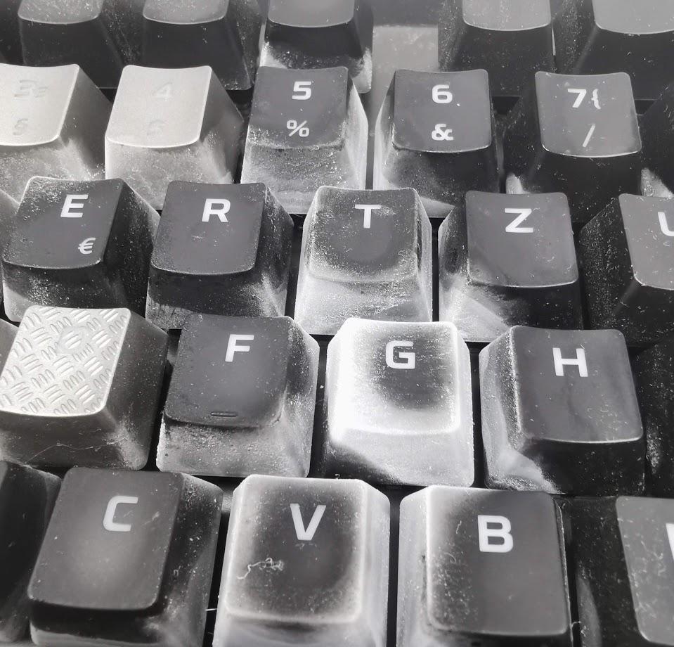 Tastatur Reinigen Schleim
