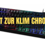 DIE KLIM CHROMA RUBBERDOME GAMING TASTATUR IM TEST