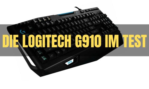 Logitech G910 im Test – Gaming Tastatur mit vielen Features