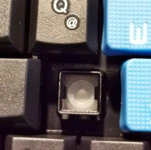 Rubberdome Schalter der Sharkoon Skiller Gaming Tastatur